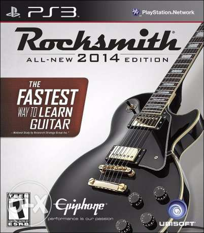 Rocksmith 2014 for PS3 with cable