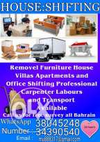 Remove fourniture House villas and apartments and office shifting