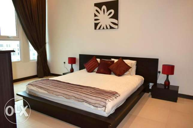 Naturally Well Lit F-Furnished Apartment At Juffair (Ref No: 5JFSH) جفير -  2