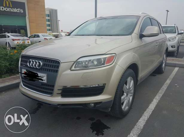 audi Q7 family car for sale