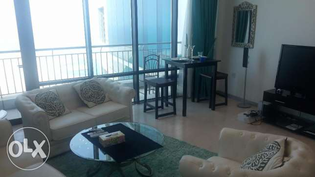 Beautiful 1 BHR flat in Seef / Sea view