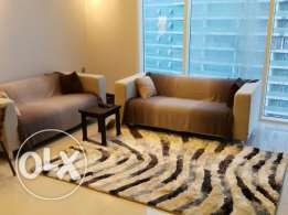 2br sea view luxury flat for rent in juffair fully furnished