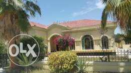 EXCELLENT Semi-Furnished 3 BR VILLA in a Compound in JANABIYA