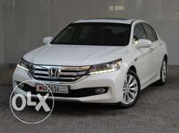 Honda Accord 4Dr 2.4L EXi-B Leather 2015 White For Sale