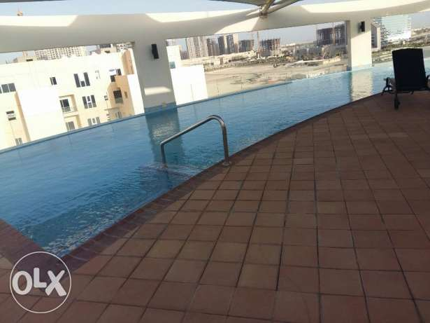 1 bedroom amazing apartment in Amwaj fully furnished /all facilities جزر امواج  -  1