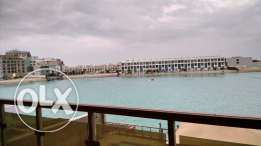 Access to Sea 3 BR Fully Furnished Apartment in Floating City Amwaj