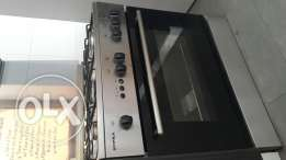 Stove with grill