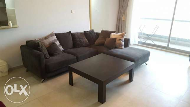 1br flat for sale in amwaj island{ fully furnished}