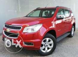 Chevrolet Trailblazer 2013 red For Sale