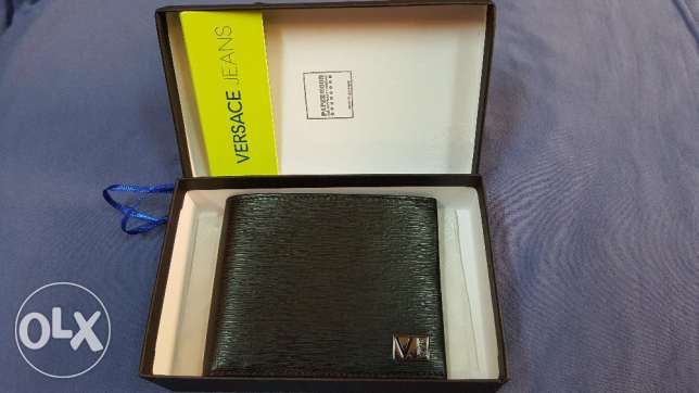 Brand New Authentic Versace Leather Wallet for Sale