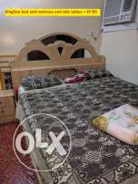 Home Furniture for Sale - Kingsize Bed, Dressing Table, Sofas, Tables