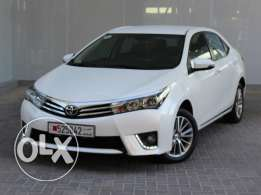 Toyota Corolla 2015 White For Sale