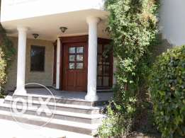 4 bedroom semi furnished single storey villa for rent
