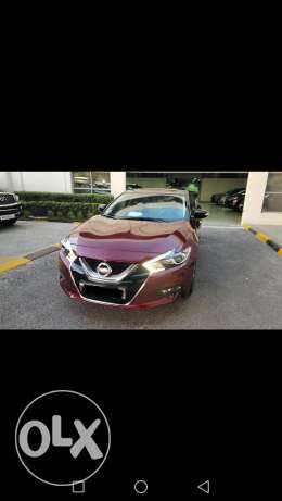 Nissan Maxima 2017 Red for sale