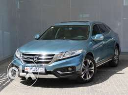 Accord Crosscourt 5DR with Navy 3.5L Leather Auto 2014 Blue For Sale