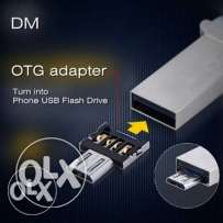 Usb OTG Adapter! Easy to use.