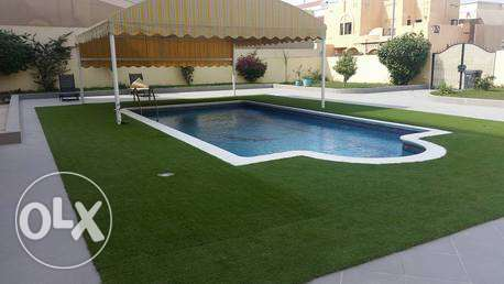 fully renovated1300 villa with private pool near Saar mall