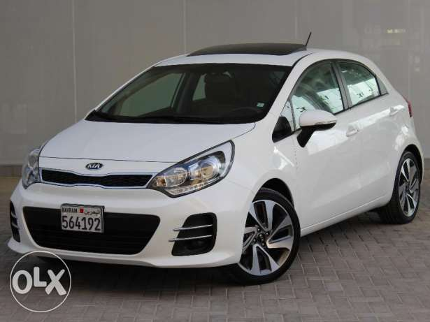 KIA Rio HB 2016 White For Sale