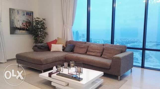 Stunning two bedrooms available for rent sea view
