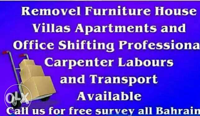 House mover all over bahrain!!! House+apartment+villa+office+shops...
