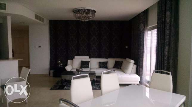 3 Bedroom Fully Furnished Apartment Amwaj Sea View