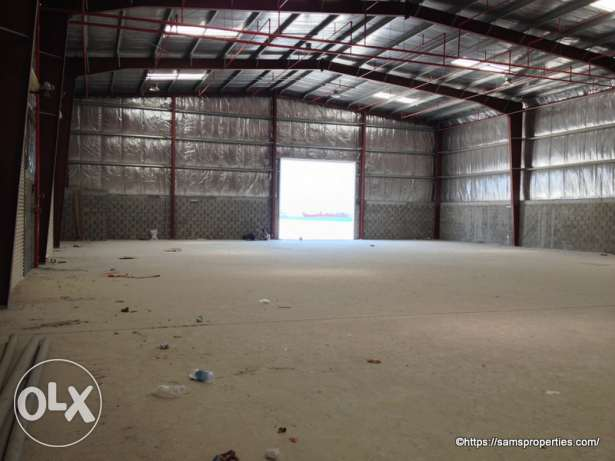 Bahrain Storage and Workshop spaces rent in a large compound.