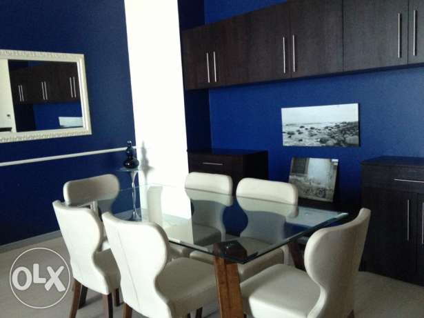 2 Bed rooms apartment decant furniture fully furnished open Sea view