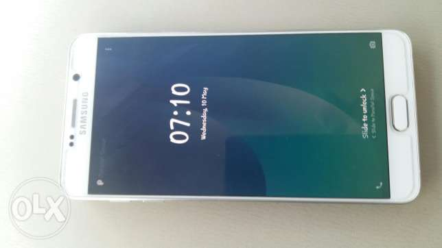 SAMSUNG Galaxy note 5 new look 4 month used