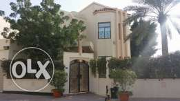 semi furnished villa close to Saudi cauway