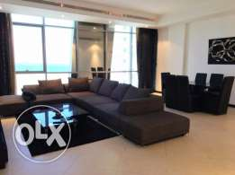 2 Bedroom Fully Furnished Flat For Rent In Juffair Sea View