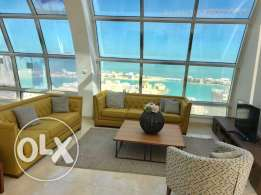 Luxury Sea and lagoon view Duplex Penthouse for Sale in Amwaj Island