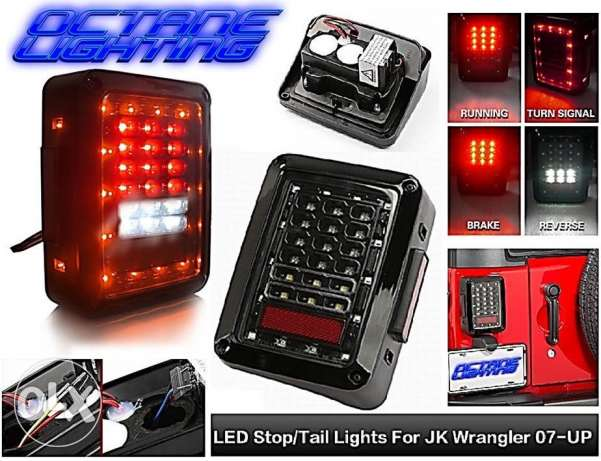 jeep tail light LED