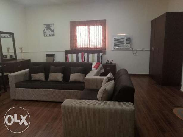 Mahooz - Fully Furnished Studio Flat for Rent (inclusive)