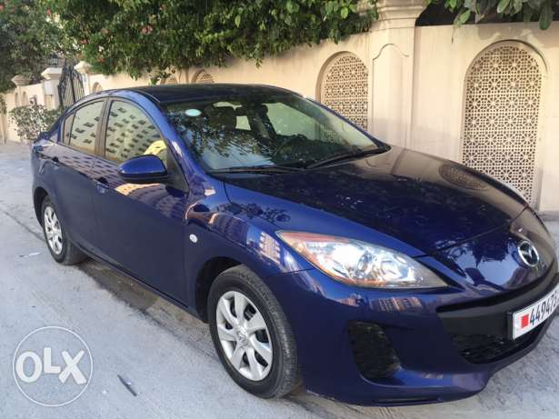 Mazda 3 full automatic 2013 very good condition no accident low mailg