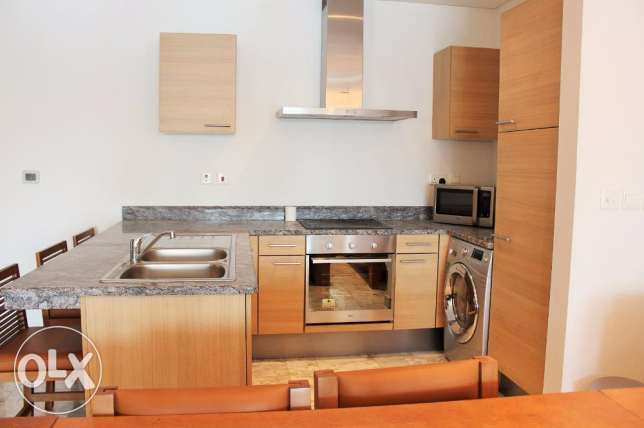 1 Bedr Great Apartment fully furnished in Reef island