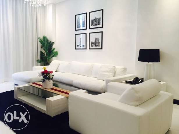 Luxury Two bedrooms modern apartment for rent in Juffair.