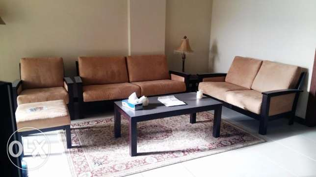 2 bedrooms furnished apartment Sea and pool views