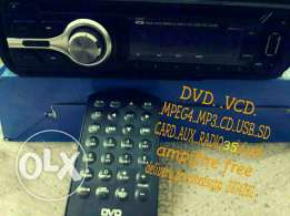 Dvd video stereo + ampifire for sale
