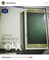 Note5 forsale