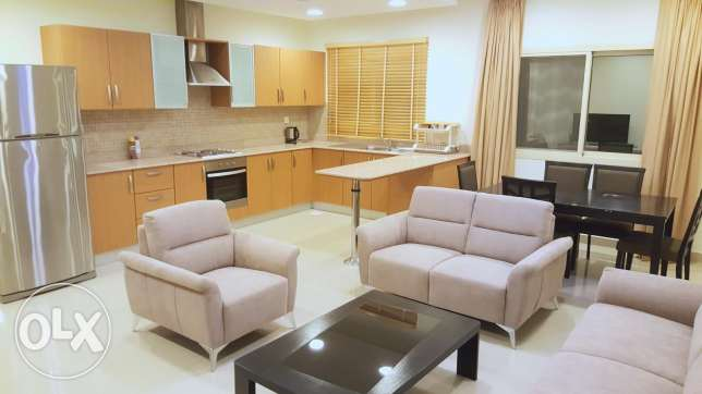 Rent in Saar 2 BHK flat near 2 st Christopher school with pool & gym