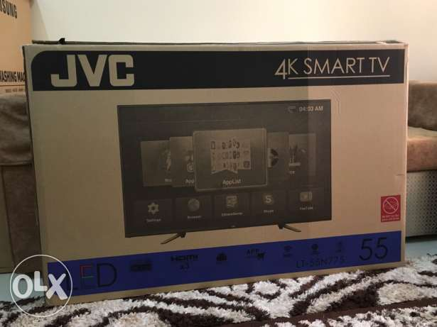 New JVC 55 inch 4K UHD Smart TV