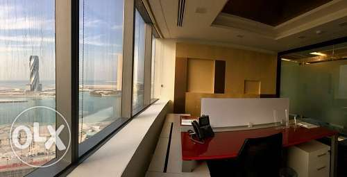 Full Fledged office at Bahrain World Trade Center BD.520/-All Inclusiv