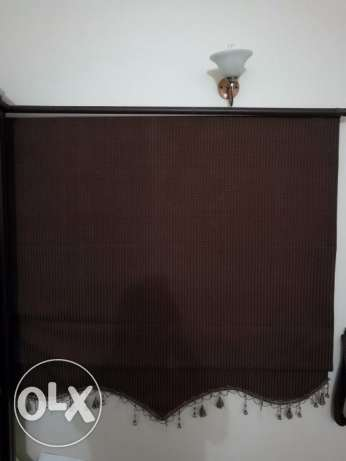 Window Curtains 2 sets with stand