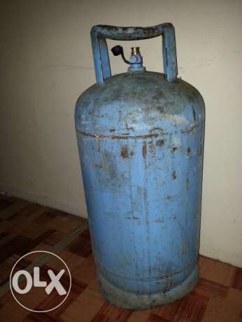 Sadik Gas Cylinder with New Regulator and Half Gas 30 BD with Delivery