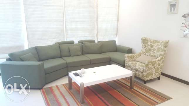 New hidd, 2 BHK + Maid room / awesome furniture