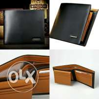 Bogesi High Quality Men's Genuine Leather Wallets Only for 7BD.