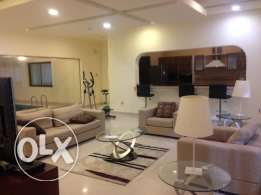 Laxury furnished 3bedroom apartment for rent 1000