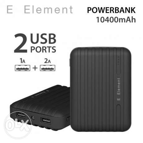 For sale power bank 10400 mah 2 USB port