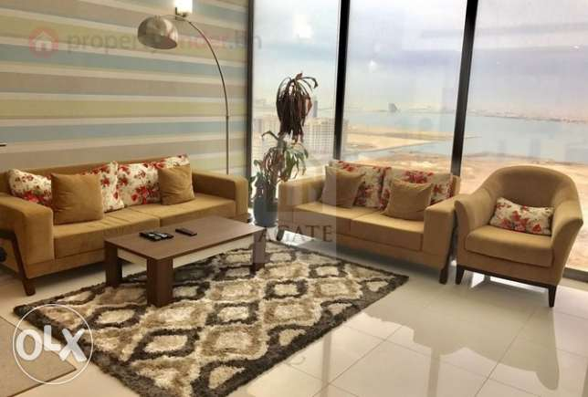 Sea view Duplex Apartment for rent in Juffair agatebh-261407