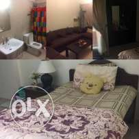 Fully Furnished Room for Rent in Adliya